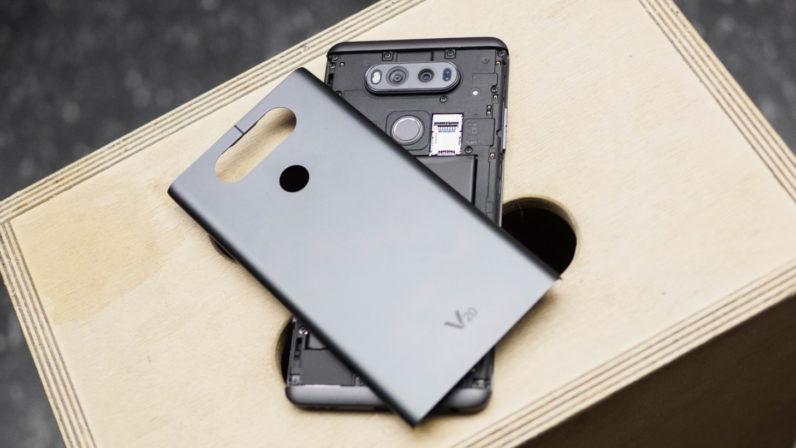 With the LG V30, removable batteries are officially dead. I'm going to miss them.