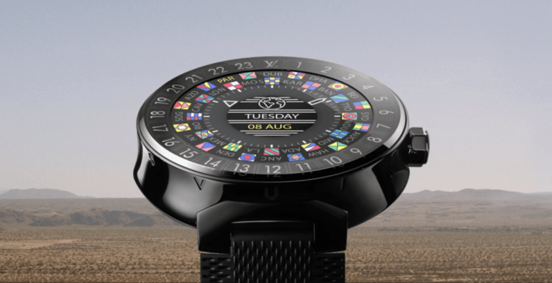 Louis Vuitton releases a $2,450 Android Wear watch for reasons