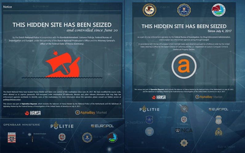 After dark web drug market busts, police are now persecuting