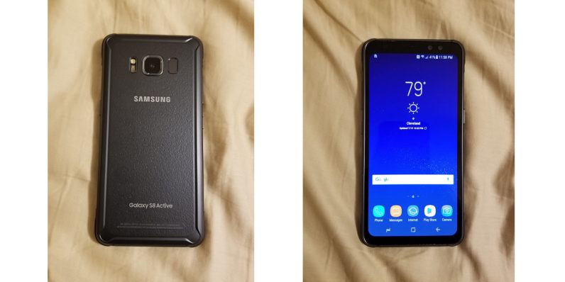 Samsung S8 Active leaks, and it's not as ugly this time