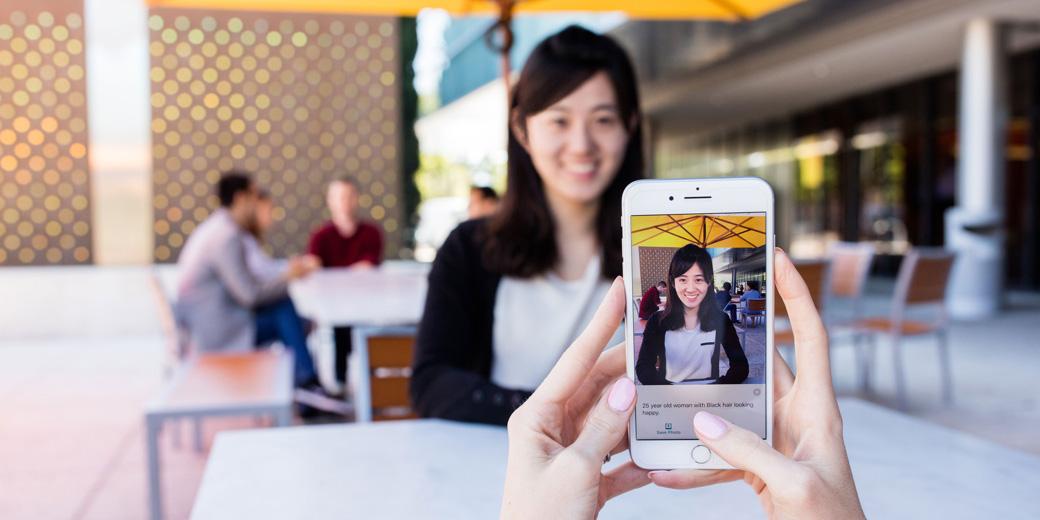 Microsoft's AI-powered iOS app tells the blind what's around them