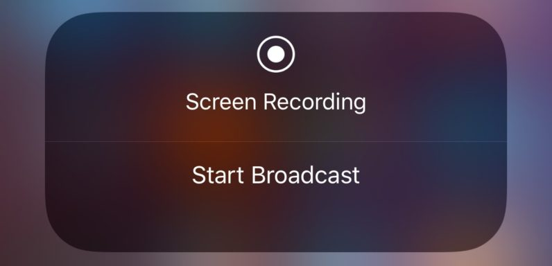 iOS 11 beta 3 adds hints of livestreaming options
