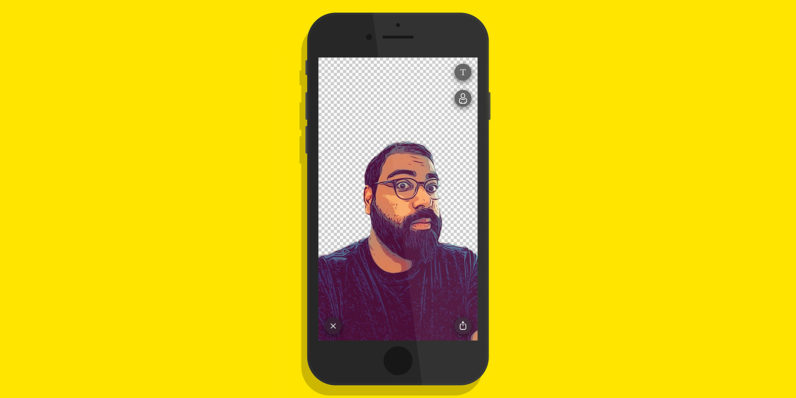 Prisma's new AI-powered selfie sticker iPhone app is… ehhh