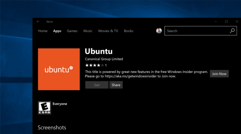 Getting Ubuntu on Windows 10 is now (almost) as easy as downloading an app