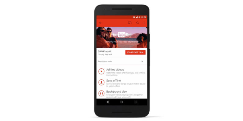 YouTube Red will merge with Google Play Music soon, and I