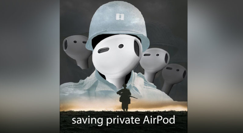 airpod, apple, scientist, magnet