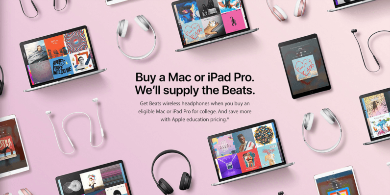 94f97c2c9bf Apple's giving away free Beats headphones on Mac or iPad purchases (and not  just for students)