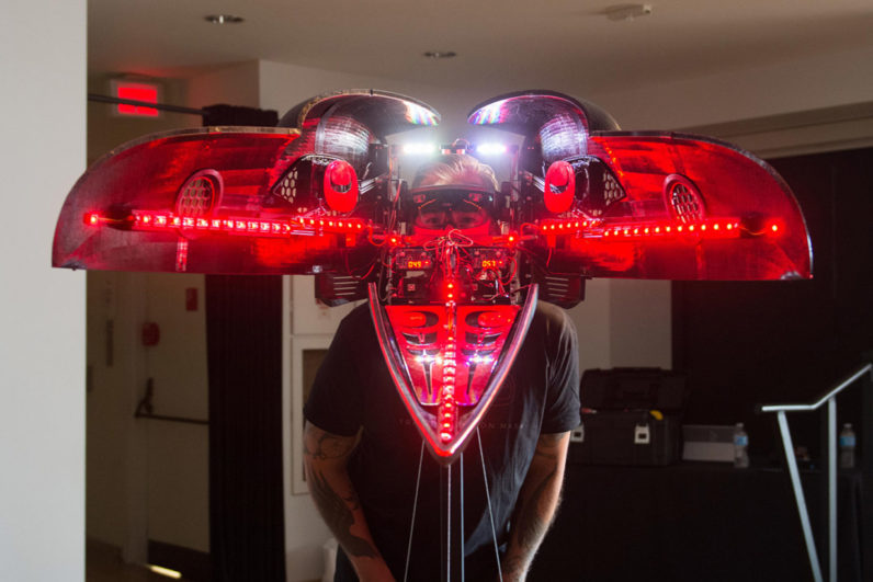 Shawn Hunt and Microsoft Vancouver Mixed Reality Transformation Mask