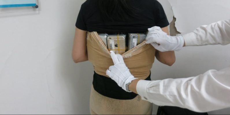 Smuggling iPhones in your pants is a bigger trend than you think