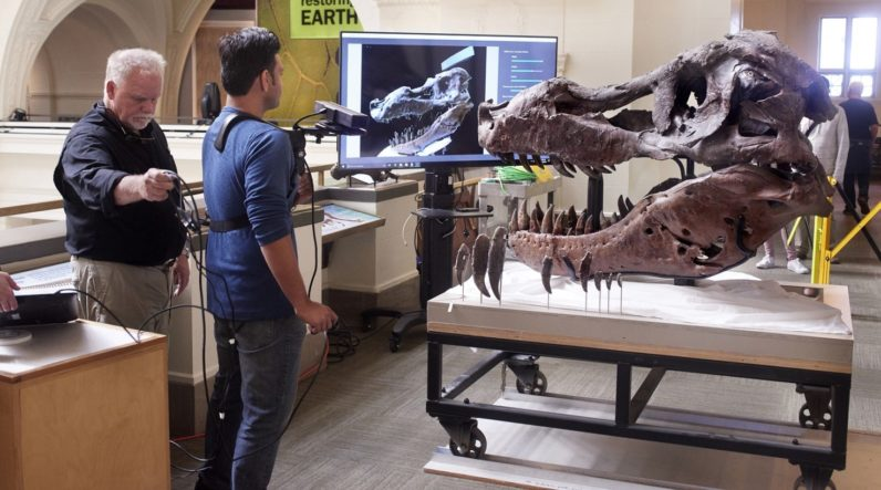 Microsoft's Kinect gets to the bottom of T-Rex-sized mystery