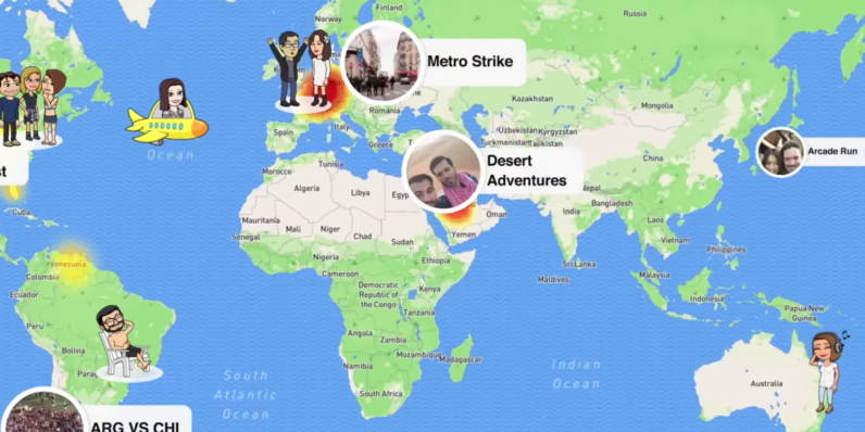 Snapchat's Snap Maps feature (probably) isn't going to get ... on grid reference, early world maps, global map, map projection, history of cartography, satellite imagery, geographic information system, geographic coordinate system, cartography of the united states, geographic feature,