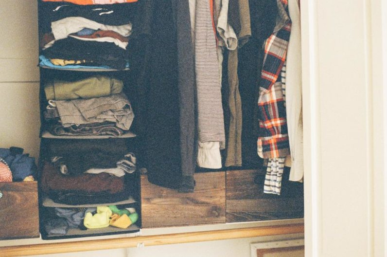 fashion, wardrobe, closet