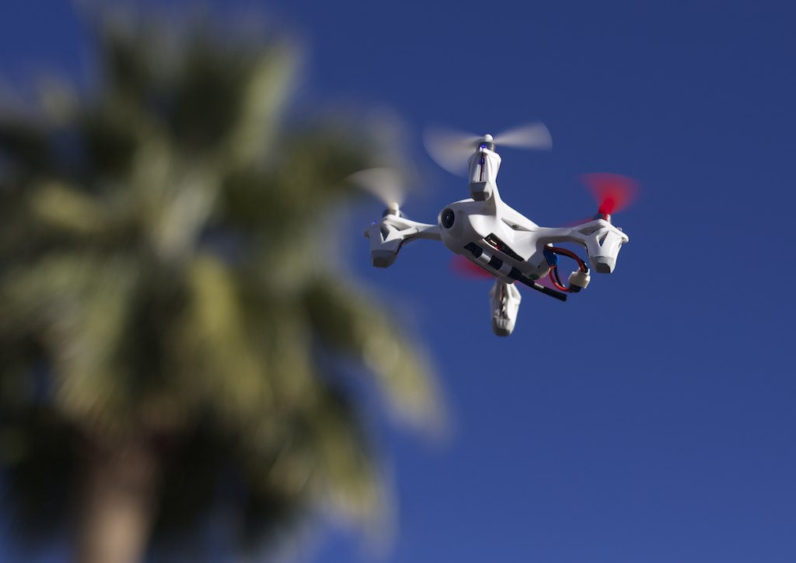 As sensor technology evolves, drones don't need eyes to see