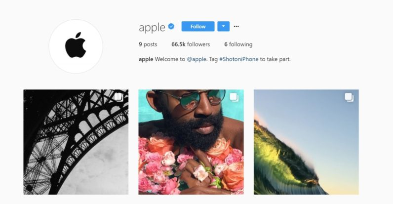 apple s new instagram account fools you into thinking the iphone camera is special lift lie. Black Bedroom Furniture Sets. Home Design Ideas