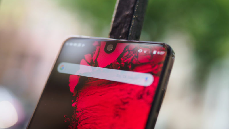 The Essential Phone 2 might hide its camera behind the screen