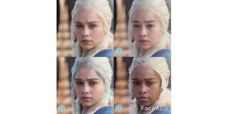 FaceApp's 'black,' 'white,' and 'Asian' filters are just as ...