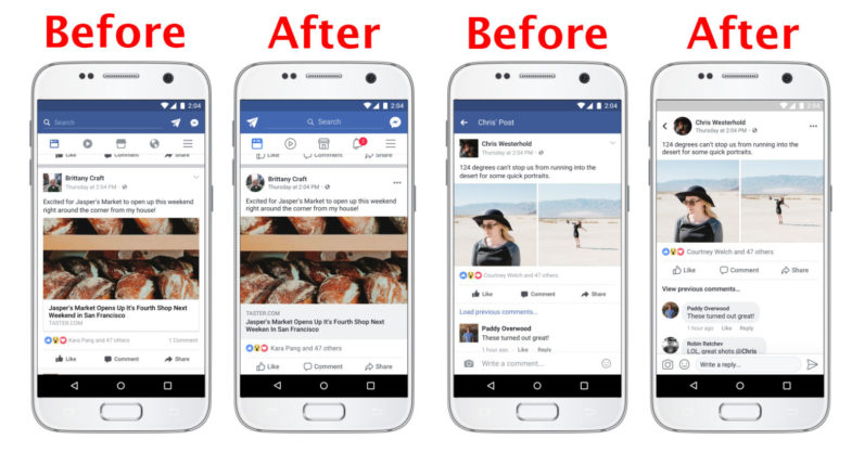 Facebook has a new look – come spot the differences