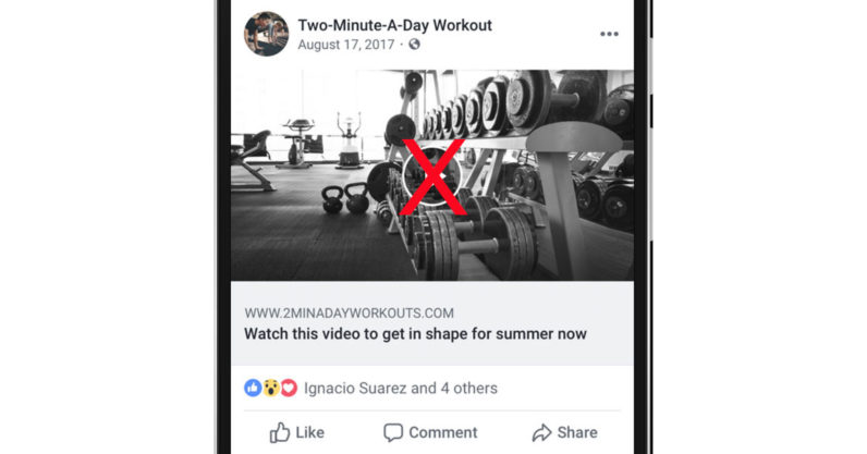 Facebook will now bury clickbait video and fake 'play' buttons