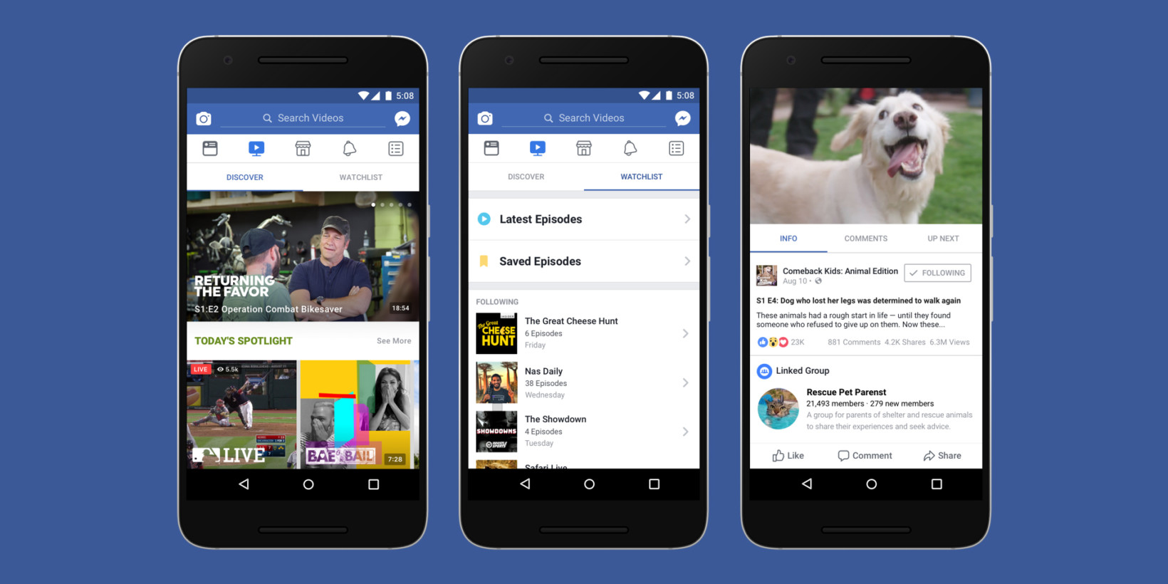 Facebook takes on YouTube with Watch, its new episodic ... - photo#13
