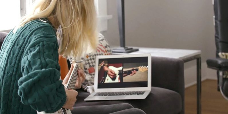 Can the digital transformation stop you quitting guitar lessons?