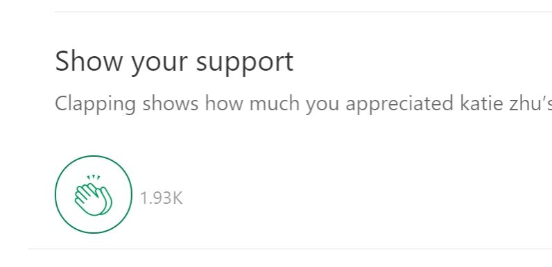Medium is using an applause meter to calculate authors' pay