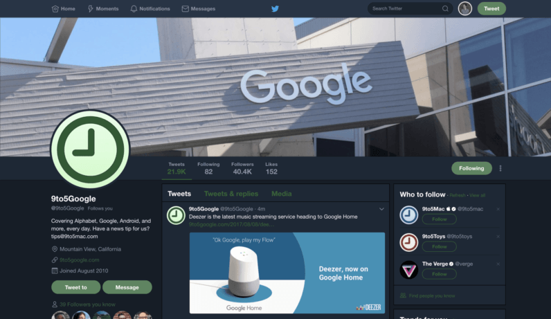 Twitter confirms it's working on a dark/night mode for desktop