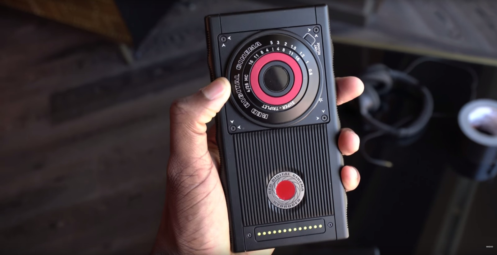 First video of RED's $1,200 phone shows it's even weirder than we thought