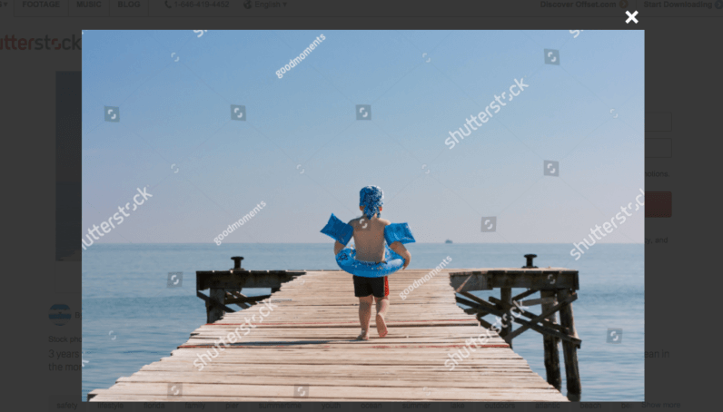 shutterstock has reverse engineered google s watermark removal algorithm