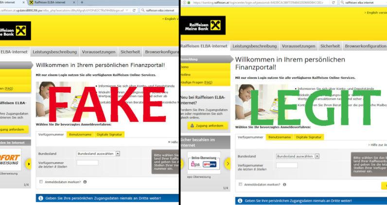 raiffeisen, bank, malware