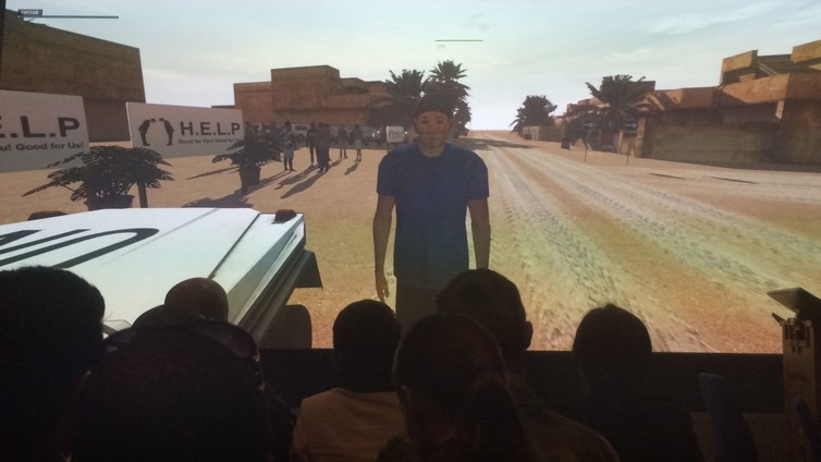 photo image Sweden is using VR training simulations to help the military work with civilians