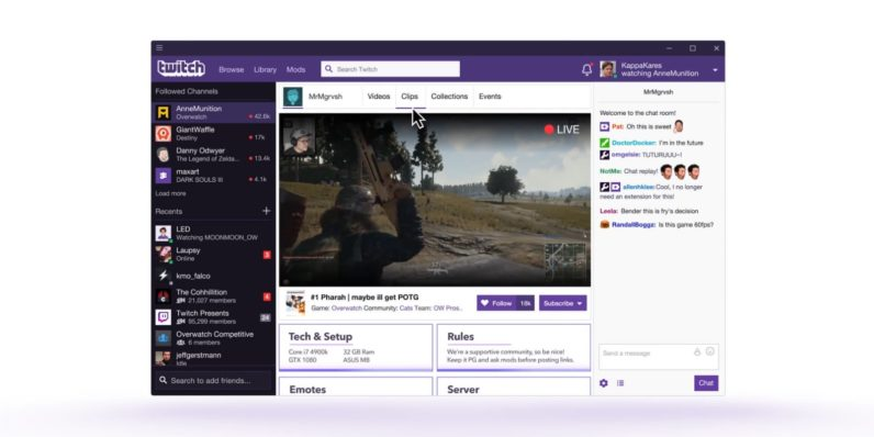 Twitch's desktop app is here -- and it's got a few issues
