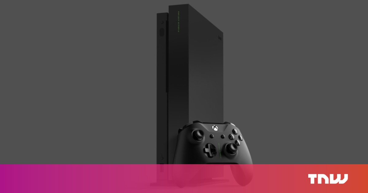 Microsoft opens Xbox One X pre-orders with limited 'Project Scorpio Edition'