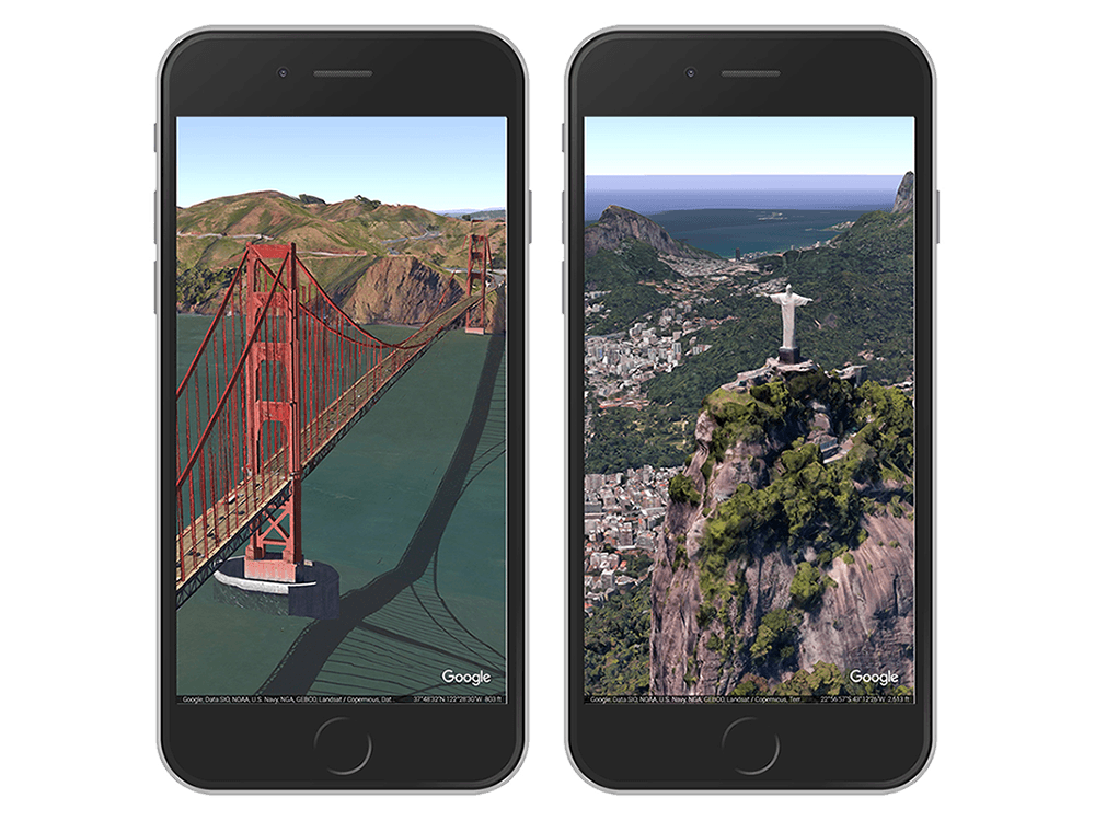 Google Earth's fantastic new app is now on iOS
