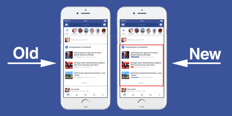 Facebook wants to end the 'I read it on Facebook' problem