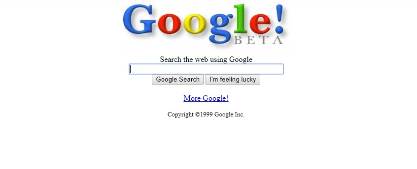 It's Google's birthday -- here's how it looked 19 years ago