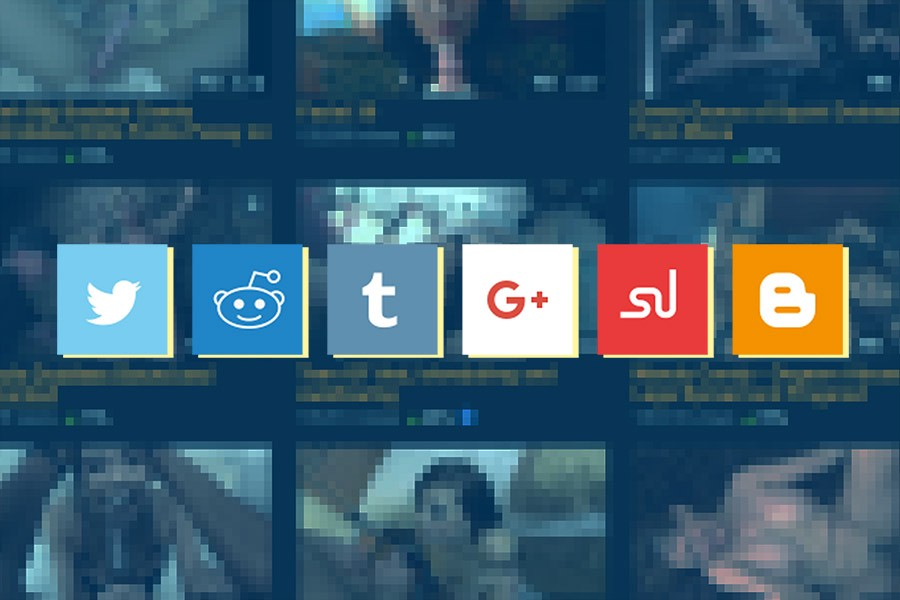 Why do porn sites have social media sharing buttons?