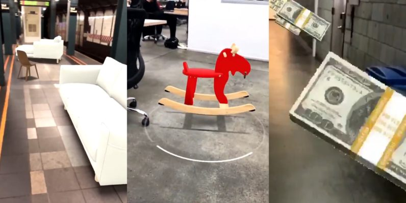The weirdest things people are doing with Apple's ARKit