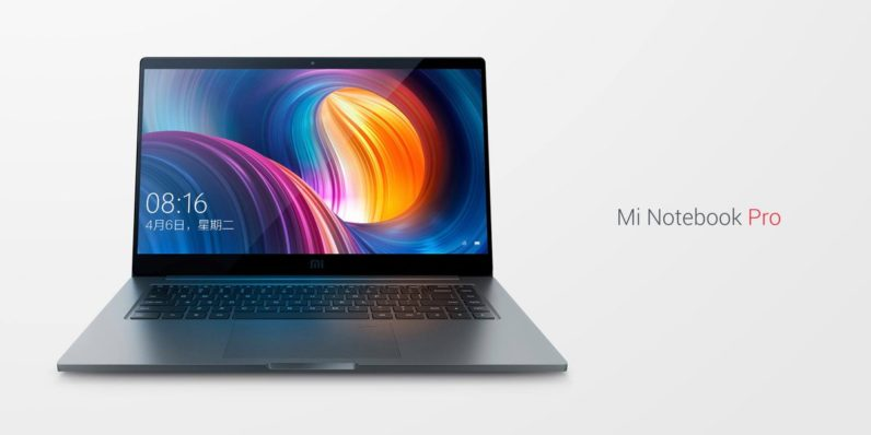 Xiaomi's Mi Notebook Pro is a sexier MacBook Pro at half the price