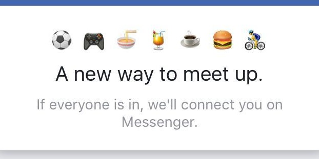Facebook's Messenger is testing a Tinder-like meet-up feature