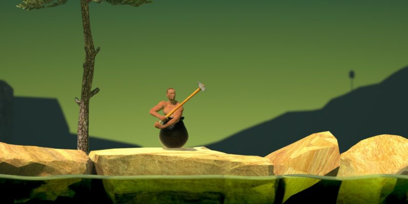 QWOP's developer returns with insufferably difficult climbing game