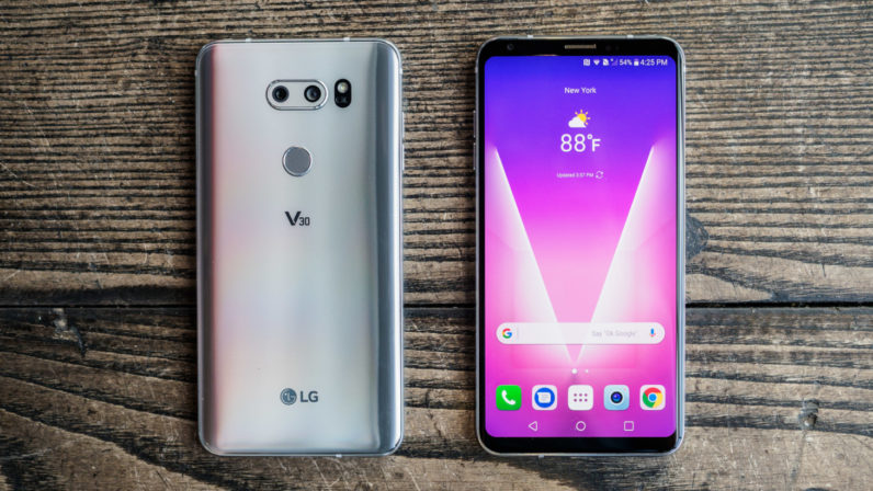 The LG V30 is finally up for pre-order on October 5
