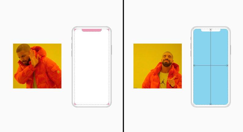 apple, iphone, x, notch, design