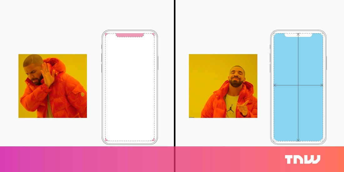 photo image Apple wants appmakers to avoid the notch when designing for iPhone X