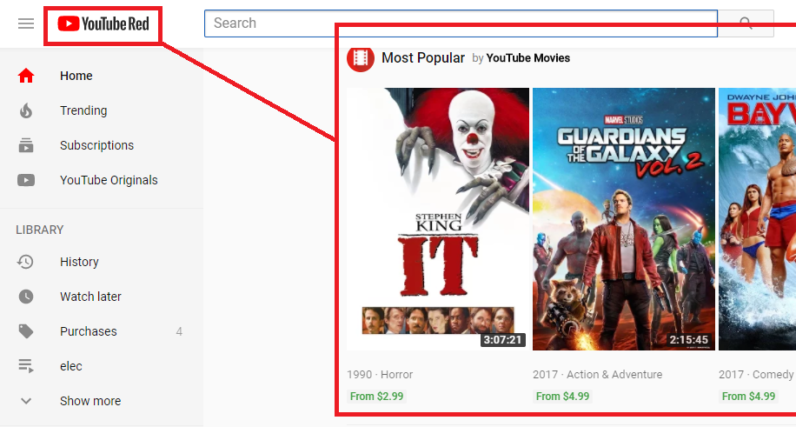 Google is serving ads in YouTube Red – even though it