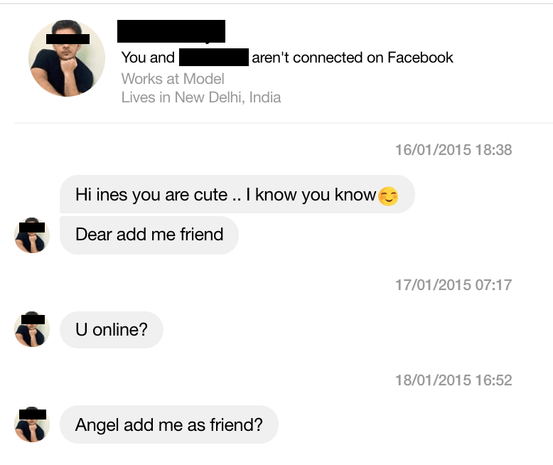 flirting signs on facebook messenger messages today video
