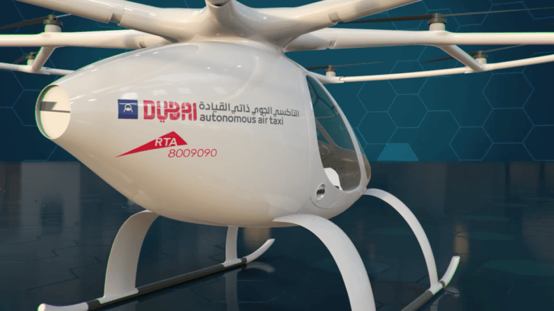 Autonomous flying taxis take to Dubai's skies in field test