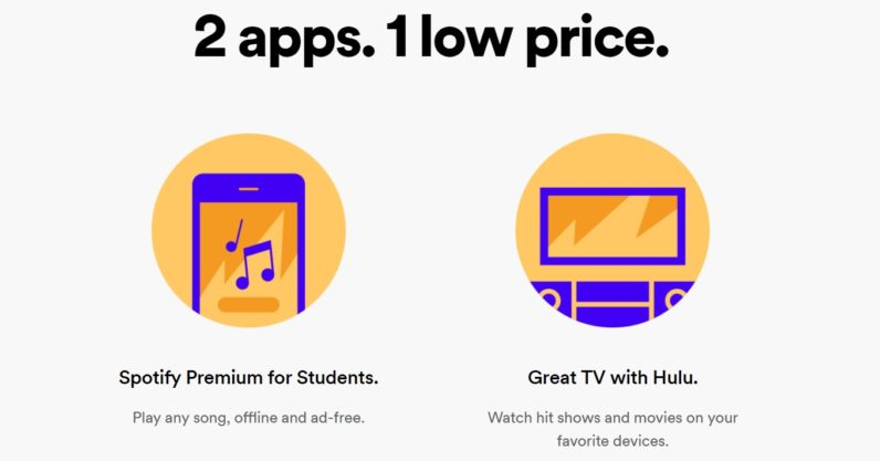 Spotify and Hulu are teaming up for a seriously good student plan