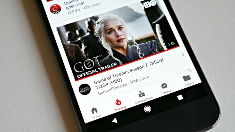 YouTube App Repositions its Navigation Bar for Better User Experience