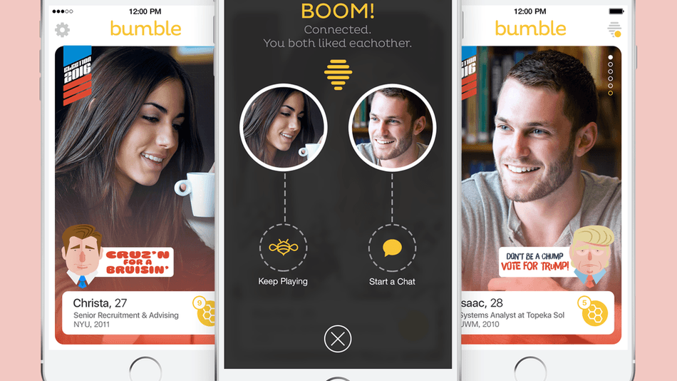 Bumble hookup app coming to android