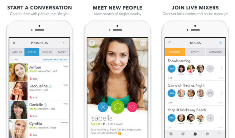 Hookup app where you like photos